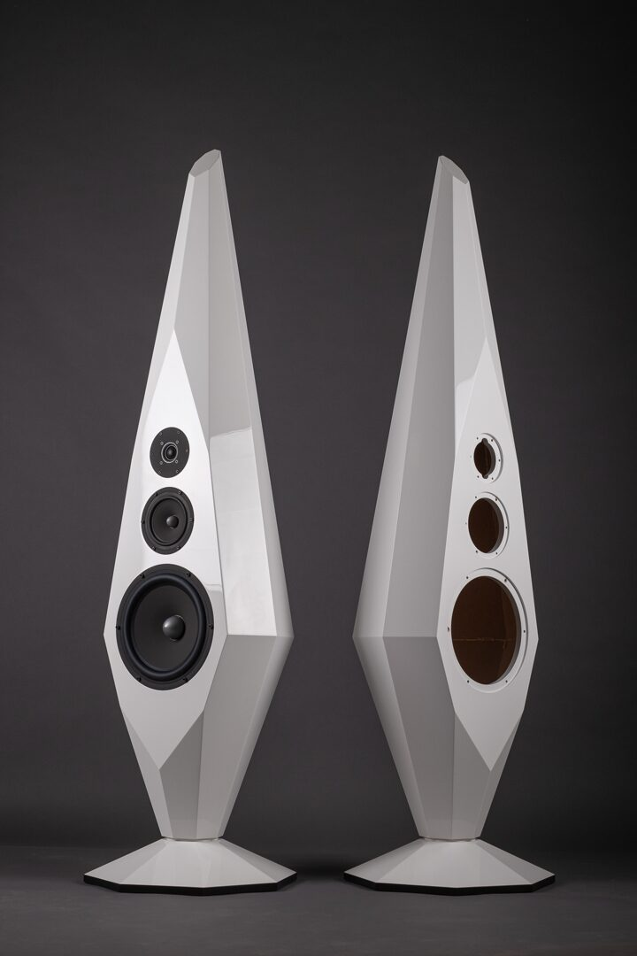 Prism 3 way speakers